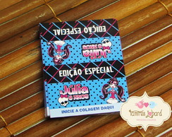 R�tulo Para Bis - Monster High
