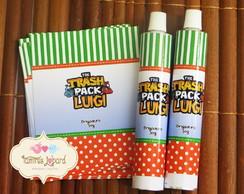 R�tulo Para Bisnaga 30g - Trash Pack