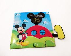 Convite Recorte especial Mickey
