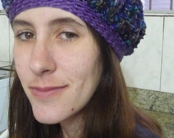 Boina feminina de croch�