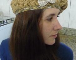 Boina feminina em croch�