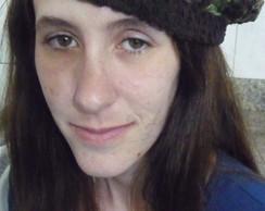 Boina  BOPE feminina em croch�