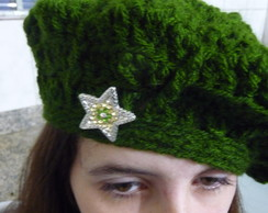 Boina verde estrela