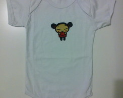 Body Pucca (aplique Bordado)