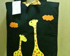 Bolsa artesanal Girafa