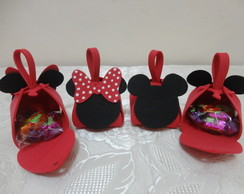 Porta Doces - Lembrancinha Minnie/Mickey
