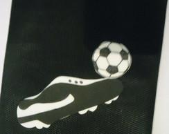 Saquinho de TNT Tema Futebol