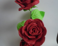 Vasinho de Rosas em e.v.a.