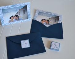 Cart�o duplo pessoal - Casamento