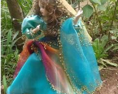 Boneca Cigana Verde
