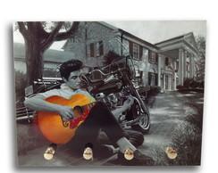 Porta Chaves estampa Elvis