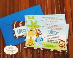 Convite - Safari Blue