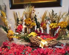 Conjunto flores secas para festas XI
