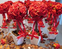 Topiara Proven�al com 12 rosas G II