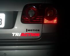 Adesivo para Carro - Equipe Triaction