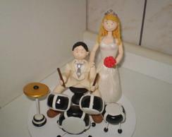 Noivo baterista.