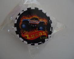 Adesivos Redondos 2,5(0,15) hot wheels