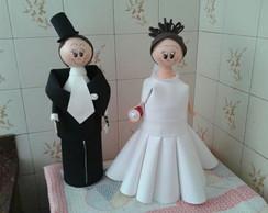 Casal de Noivos Cofre