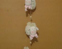 Pingente de ovelhas carapinha