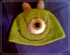 Touca de Croch� Mike Wazowski (Monstros