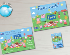 Kit Festa Digital Peppa Pig Picnic