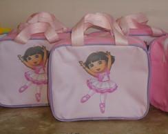 Bolsas Dora Bailarina e macaco botas