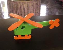 Helic�ptero em MDF