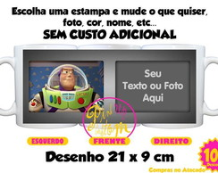 Caneca Toy Story buzz lightyear