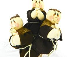 Buqu� de Santo Antonio 3 santinhos