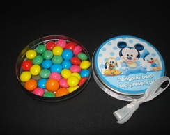 Lembran�a latinha Baby Disney