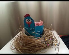 Caxinha para doces galinha pintadinha