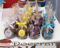 Ma�� de chocolate decorada