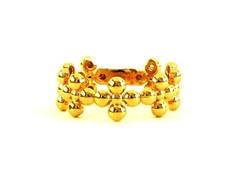Anel Trevinhos Dourado