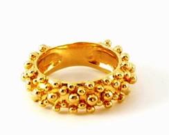 Anel Espuma Dourado