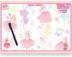 Barbie 12 Princesas Quadro M�gico