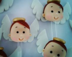 Anjinhos - Colherzinha decorada