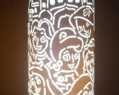 Lumin�ria em PVC Princesas