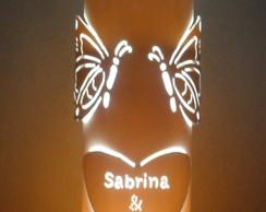 Lumin�ria em PVC Paix�o.