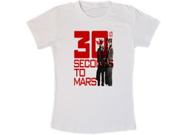 Camisa 30 Seconds to Mars