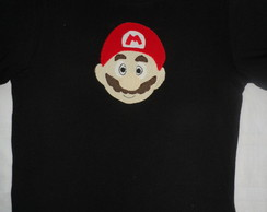 camiseta ou body SUPER MARIO BROSS