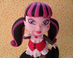 TOPO DE BOLO DRACULAURA MONSTER HIGH