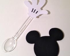 Aplique Mickey - copinho de brigadeiro