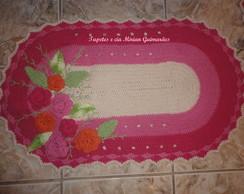 tapete rosa jardim encantado.
