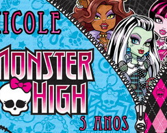 Papel Arroz Personalizado - Monster High