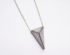 Colar Geometric Stripes Solo