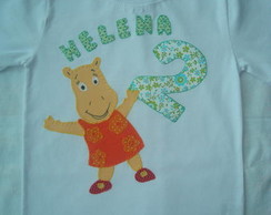 CAMISETA OU BODY BACKYARDIGANS