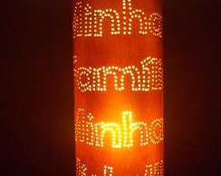 Lumin�ria;  PVC Minha Fam�lia Minha Vida
