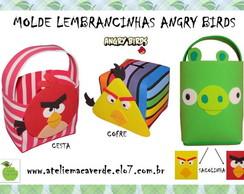 Molde Lembrancinhas Angry Birds