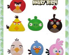 Molde apliques Angry Birds para PET
