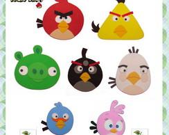 Molde Decora��o Angry Birds